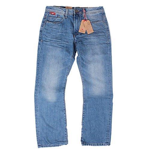 """Mens Lee Cooper Jeans Bootcut luce lavare Carter """"30"""" 32""""34363840"""" Blue 36W x 32L"""