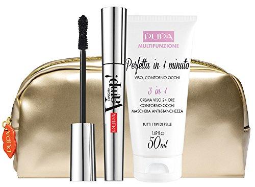 pupa-kit-regalo-natale-mascara-vamp-crema-3in1-viso-contorno-occhi-maschera-anti-stanchezza-pochette