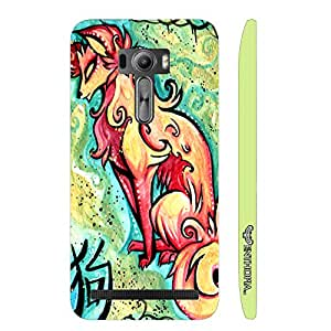 Asus ZenFone Selfie CHINESE ZODIAC DOG designer mobile hard shell case by Enthopia