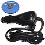 HQRP Travel Car Charger / 12V DC Adapter for Gateway LT Series: LT40 / LT4008u / LT4009u / LT4010u Netbook / Subnotebook... by HQRP