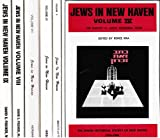 img - for Jews in New Haven; Volumes IV through IX (1986-2009) book / textbook / text book