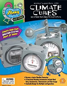 POOF-Slinky 18000 Scientific Explorer Climate Cubes Weather Information Station Kit by Scientific Explorer-Poof Slinky TOY (English Manual)
