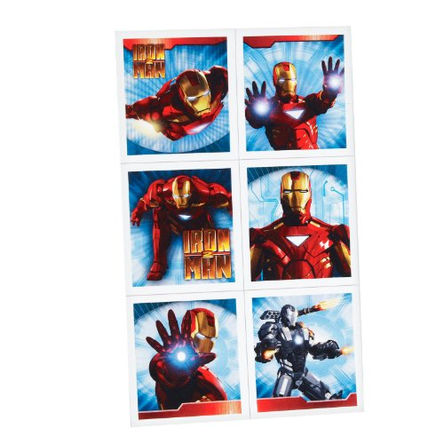 Hallmark - Iron Man 2 Stickers
