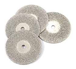 Forney 60249 Diamond Wheel Replacements 3/4-Inch 4-Piece