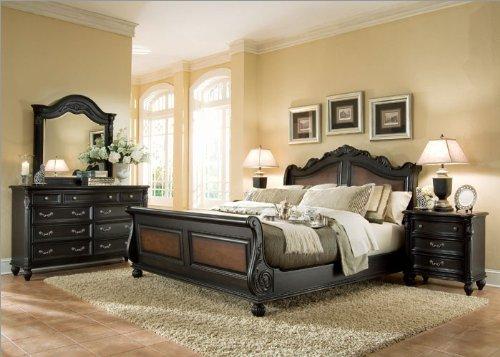 Living room designs american drew 381 bedroom series - New classic versailles bedroom set ...