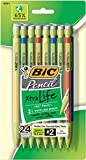 BIC Pencil Xtra Life, Medium Point (0.7mm), 24-Count