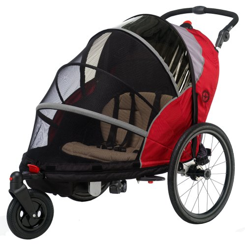 Schwinn Joyrider Bicycle Trailer (Red/Gray)