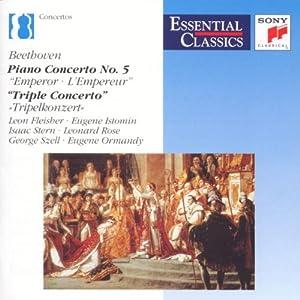 """Beethoven: Piano Concerto No. 5,  """"Triple Concerto"""""""