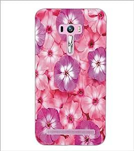 PrintDhaba Flowers D-5356 Back Case Cover for ASUS ZENFONE SELFIE ZD551KL (Multi-Coloured)