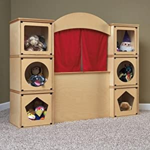 Roomeez Extra Puppet Theatre Kit from Jonti-Craft