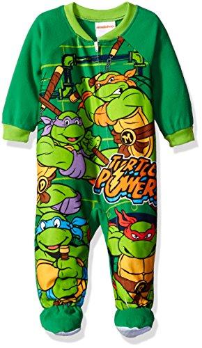 nickelodeon-boys-ninja-turtle-fleece-footed-blanket-sleeper-green-24-months