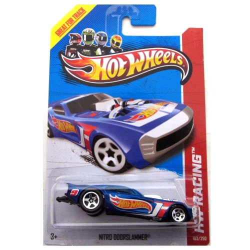 Hot Wheels Hw Racing Nitro Doorslammer 2013 Great For Track 103/250 - 1
