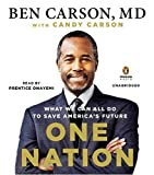 One Nation: What We Can All Do to Save Americas Future by Carson M.D., Ben, Carson, Candy (2014) Audio CD