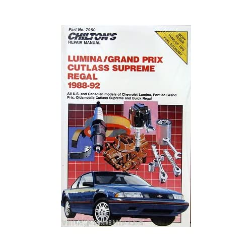 Contents contributed and discussions participated by micheal welton 92 chevy lumina repair manual fandeluxe Image collections