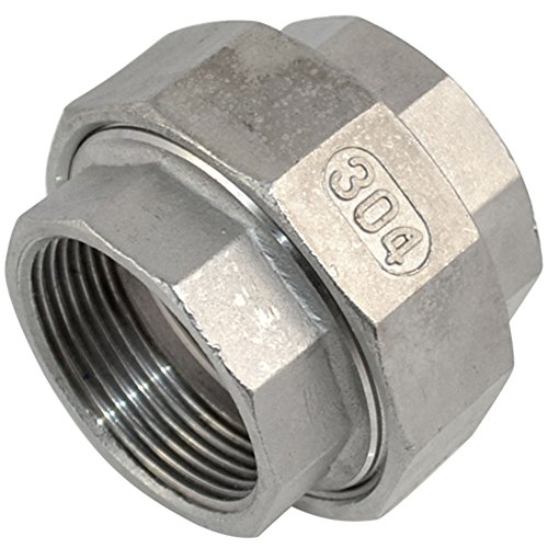 SuperWhole-1-14-Malleable-Straight-Union-Coulping-Pipe-Fitting-Stainless-Steel-SS304-FF