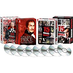 Classic Horror Collection (Vincent Price, Alfred Hitchcock, James Earl Jones, Karen Black, and more)-Amazon Exclusive