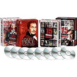 Classic Horror Collection (Vincent Price, Alfred Hitchcock, James Earl Jones, Karen Black, and more)-Amazon Exclusive