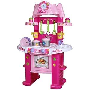 Cuisine jouet jeu d 39 imitation pour enfants en plastique - Cuisine plastique jouet ...