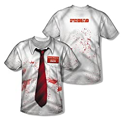 Shaun Of The Dead Bloody Costume All Over Print Front / Back T-Shirt
