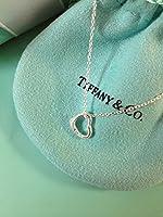 TIFFANY&Co. ティファニー オープン ハート ペンダント (ミニ)  【メッセージカード付き】 open heart pendant 並行輸入品 [並行輸入品]