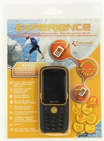 T�l�phone GSM CROSSCALL WAKE PLUS JAUNE