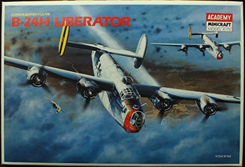 Academy 1:72 Consolidated Vultee B-24H Liberator Model Kit #1693