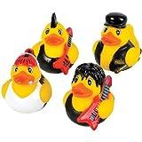 12 Pop Star Rubber Ducks