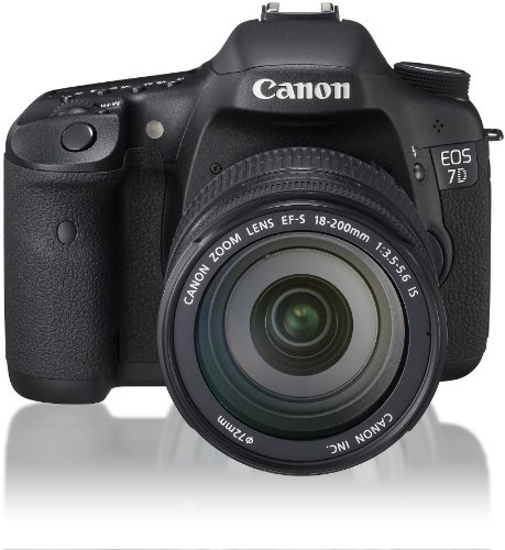 Canon デジタル一眼レフカメラ EOS 7D レンズキット EF-S18-200mm F3.5-5.6 IS USM付属 EOS7D18200ISLK