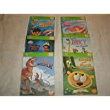 Set Of Six Leap Frog Tag Learning System Books Only Princesses Dinosaurs And More