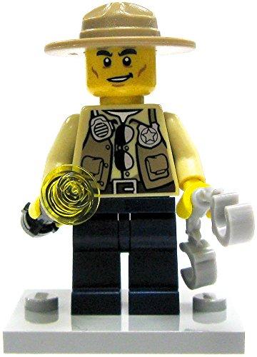 LEGO City Loose Swamp Police Sheriff Minifigure [Loose] - 1