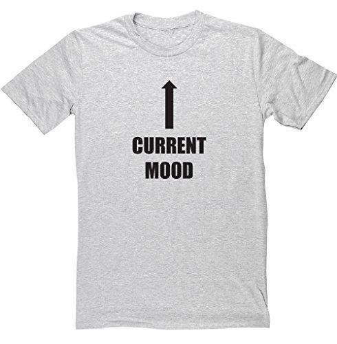 HippoWarehouse -  T-shirt - Uomo Grey Small