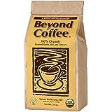 Beyond Coffee - Caffeine Free Coffee Substitute - 100% Organic Coffee Alternative - GMO Free Grain and Chicory Beverage (16 Oz)