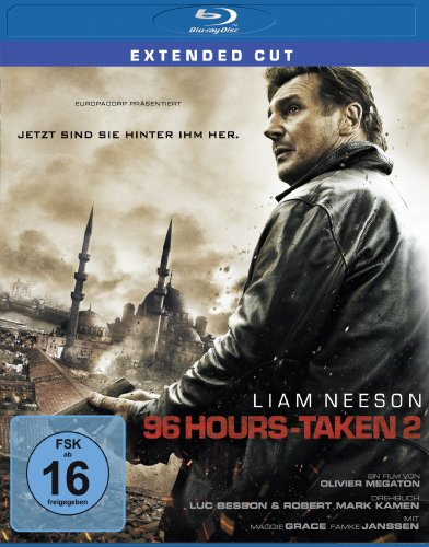 96 Hours - Taken 2 (Extended Cut) [Blu-ray]