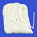 "Diamond Braided Nylon Dock Line Rope - Choose 3/16"" or 1/4"" Thickness & 50 or 100 Foot Lengths"