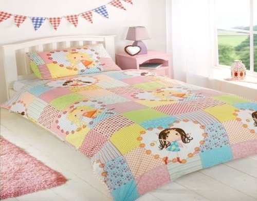 Shabby Chic Pink Bedding 7750 back