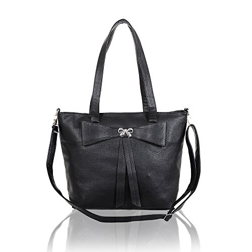 Ladies Designer Candace Soft Leather Tote Bag