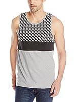 Ben Sherman Camiseta Tirantes Geo Block Vest (Gris)