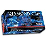 Microflex MF300XL-10PK - Diamond Grip Powder-Free Latex Gloves - Case Of 10 Boxes, 100 Per Box, Xlarge