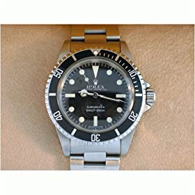 Vintage/Antique: Men's Rolex Oyster Perpetual Submariner Stainless Steel Watch Ref: 5513 ca.1982
