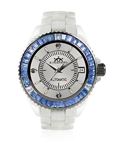 Hindenberg Reloj automático  Blanco / Azul 38 mm