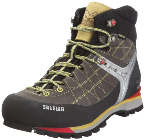 Salewa Men's Rapace GTX Trekking Boot,Grey/Yellow,9.5 M US