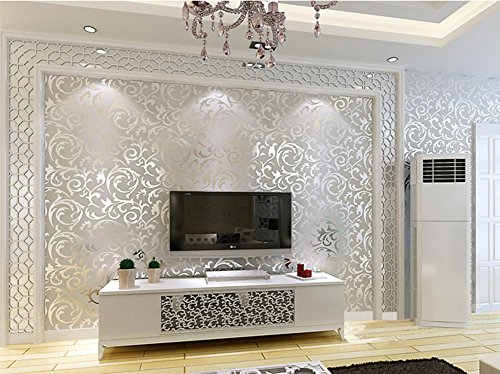 on-promotion-yancorp-victorian-damask-embossed-textured-wallpaper-silver-grey