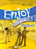 echange, troc Odile Martin-Cocher, Nadine Alfaïa, Michèle Meyer, Anne Grzesiak-Lycett - Enjoy English in 5e : Workbook