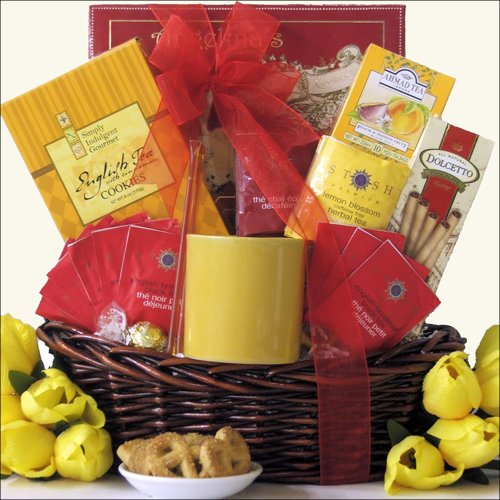 Great Arrivals Gourmet Tea Gift Basket, Tea Treasures Small