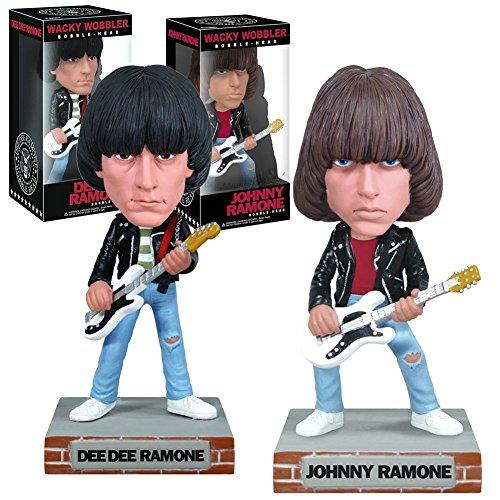 Ramones Collectors Memorabilia: 2010 Funko Johnny Dee Dee Wacky Wobblers