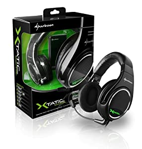 Sharkoon X-Tatic True 5.1 Dolby Digital Surround Sound Gaming Headset