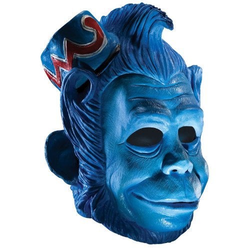 Wizard Of Oz Deluxe Latex Mask, Flying Monkey, Blue