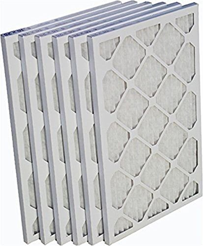 Heating, Cooling & Air EZ-Pleat 16x25x1 Air Filter Cleaner MERV 8 Pleated Furnace - 6 Pack (Ez Heat Thermostat compare prices)