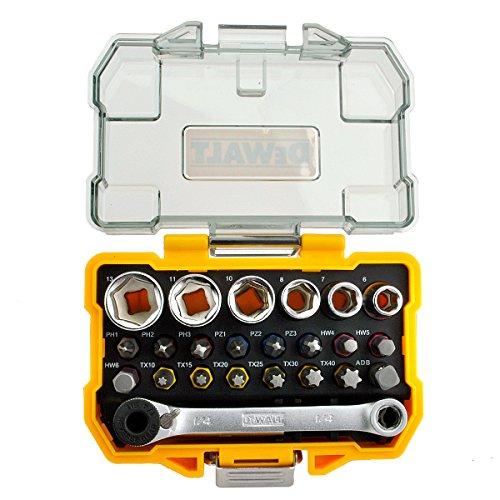 Dewalt DT71516-QZ 1/4-Inch Socket and Screwdriver Set (24-Piece)