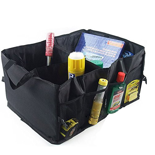 DuaFire Auto Car Folding Trunk Organizer With Storage Bag